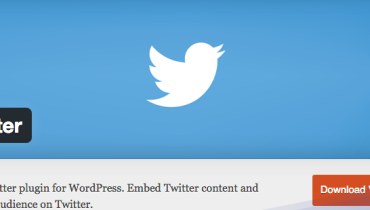 plugin twitter wordpress